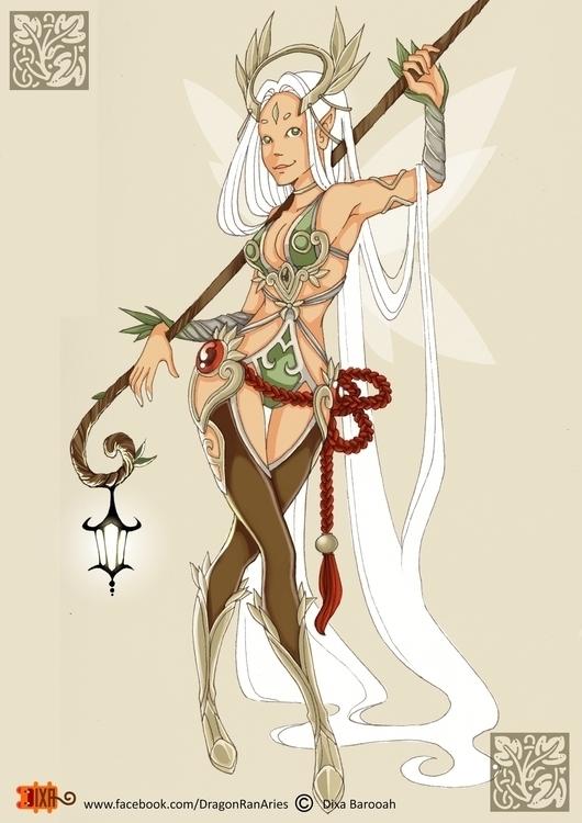 Faery Guide DragonranAries  - fairy - dragonranaries | ello
