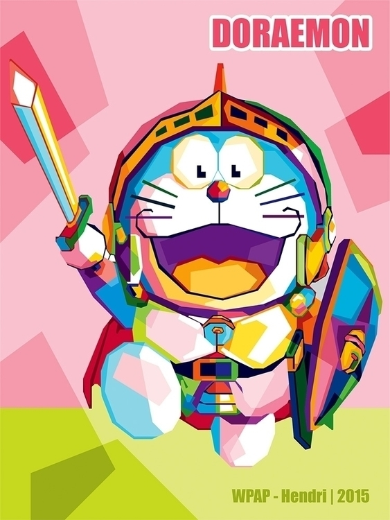 Doraemon - illustration, characterdesign - hendrixs_94 | ello