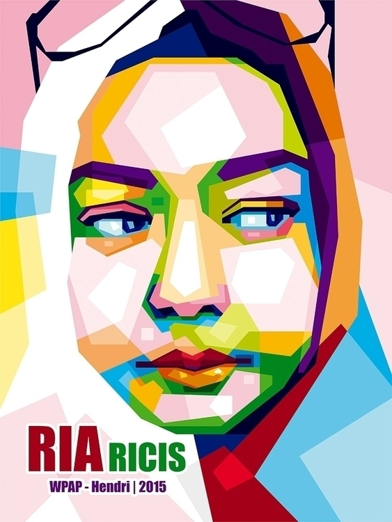 Ria Ricis - illustration, vector - hendrixs_94 | ello