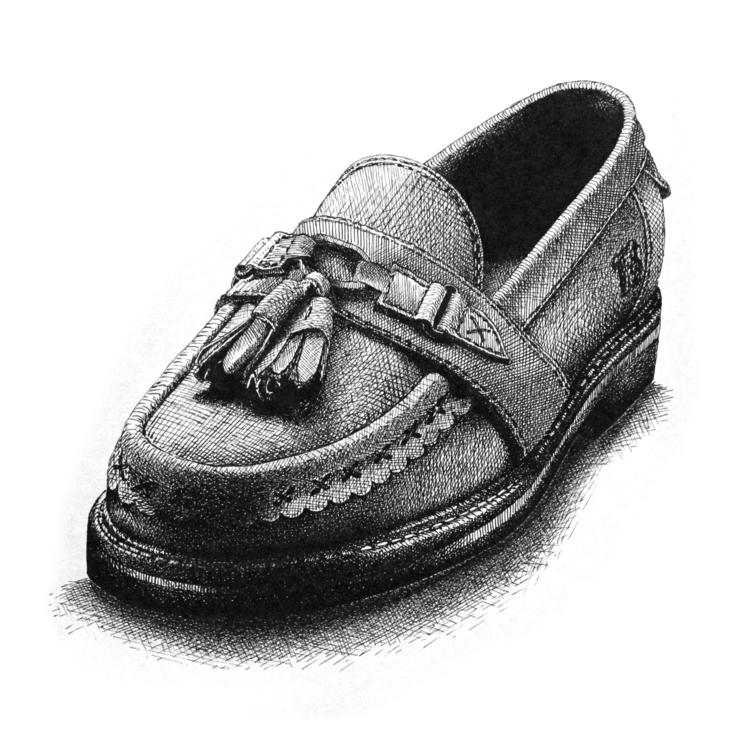 Shoe - illustration - juliocgrio | ello