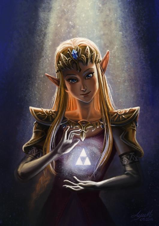 Zelda - zelda, thelegendofzelda - ayu-3119 | ello