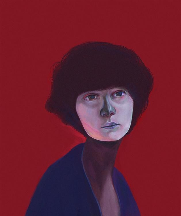telas - illustration, painting, digitalart - devia | ello