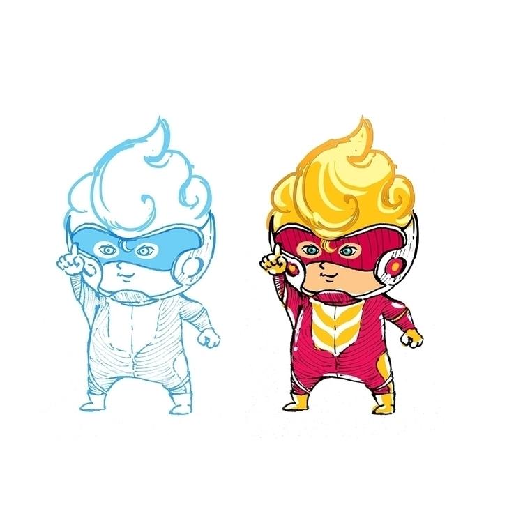 Mascot character client, super  - hoangxcg | ello