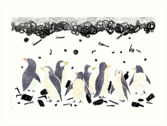 world earth day, penguins. ania - aniark | ello