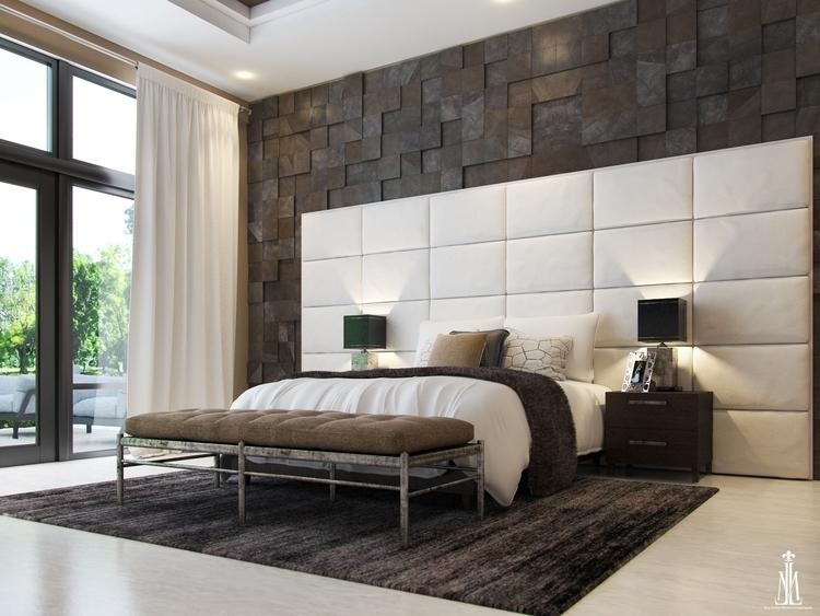 Master room design - 3d, 3dsmax - arqmarenco | ello