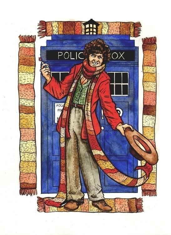 Doctor - watercolor, illustration - zickkori | ello