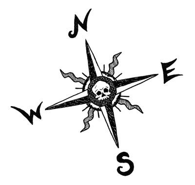 compass, compassrose, north, south - kaytiespellz   ello