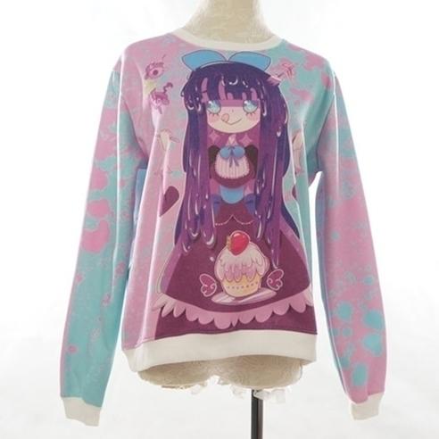 panty stocking sweater designed - princessmisery | ello