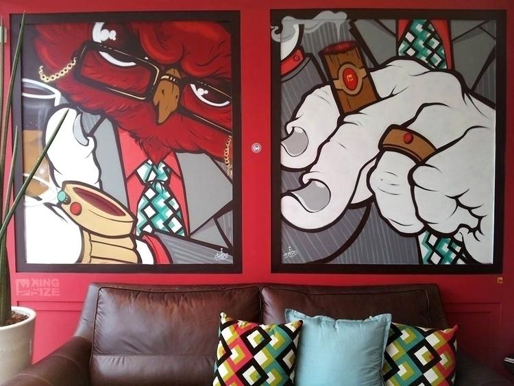 Owl - #art#mural#graffiti#streetart#painting - shesko | ello
