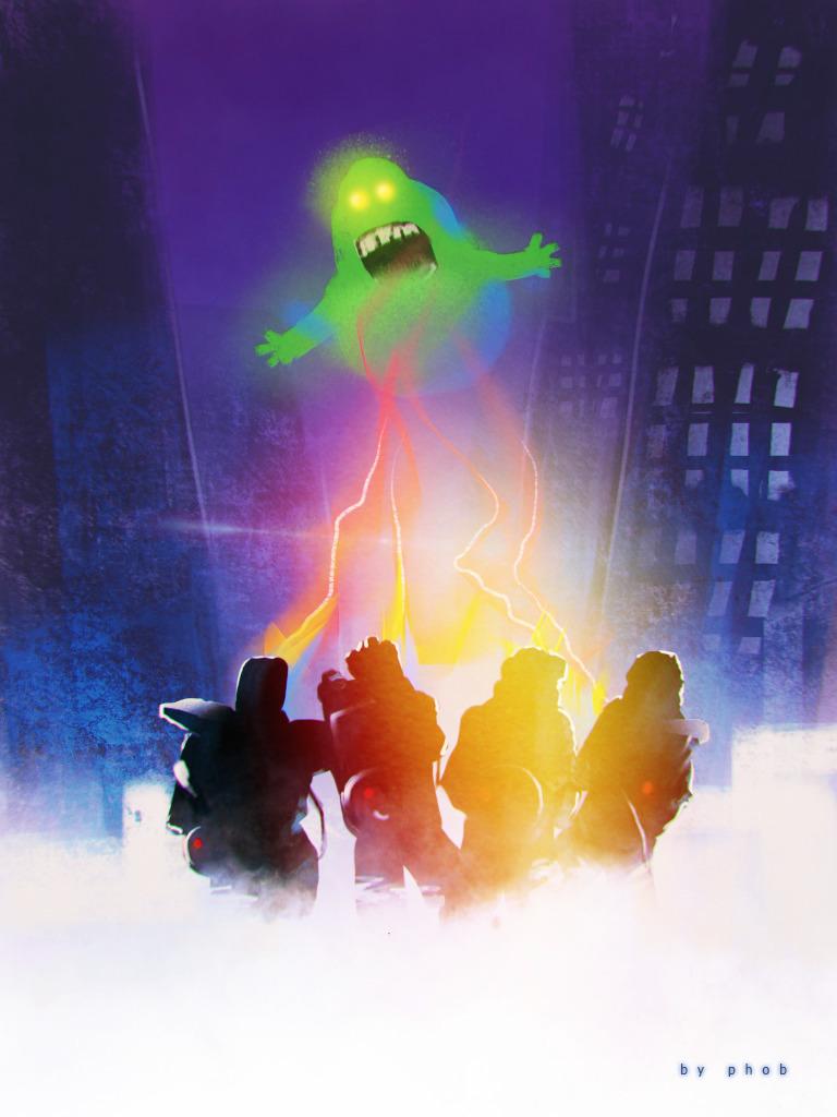 ghostbusters - procreateapp, ipad - phob   ello