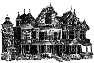 Winchester Mystery House - mystery - kaytiespellz | ello