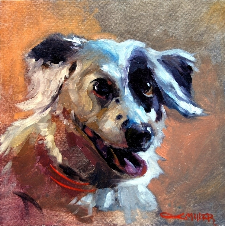 Commission 14x14 oil canvas. Cu - camm182 | ello