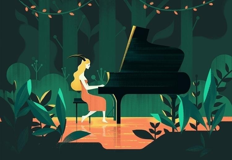 Music woods. | Instrumental Zod - jasuhu | ello