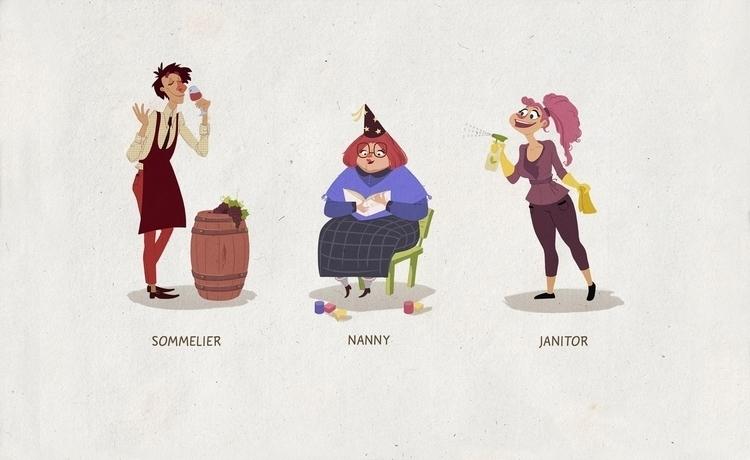 characterdesign, cartoon - natalytsiapalo | ello