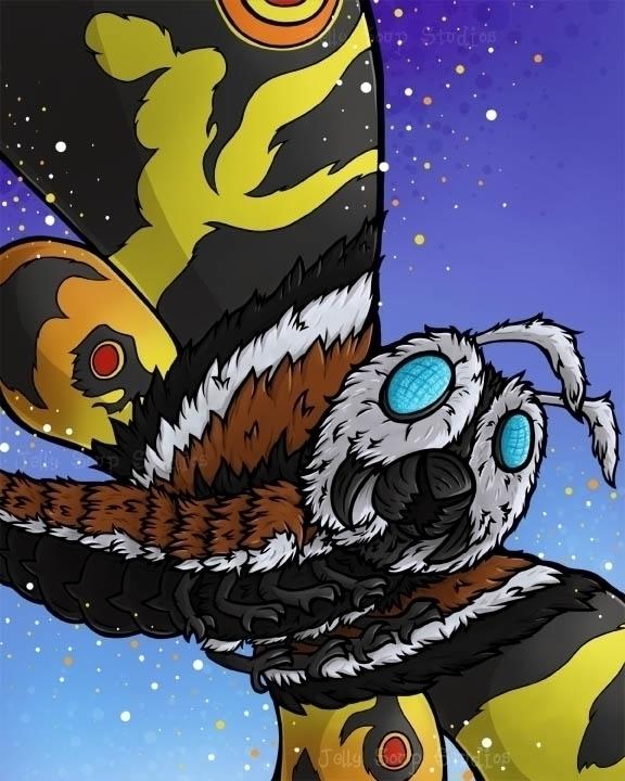 fur longer thought finally Moth - jellysoupstudios   ello