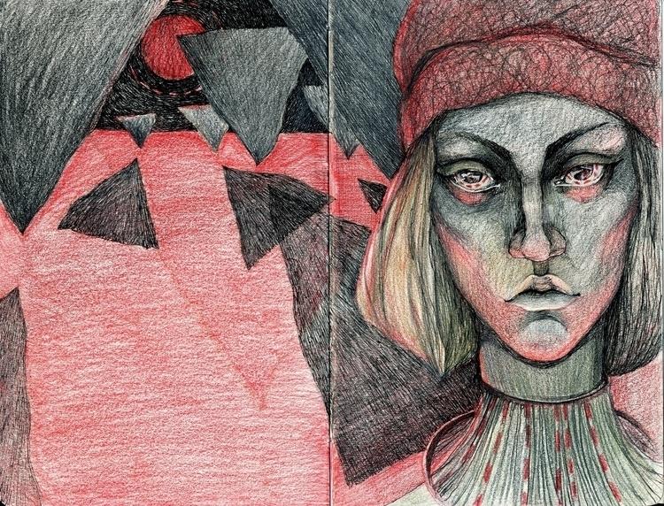 Hide shadow - sketch, notebook, dreams - etash | ello