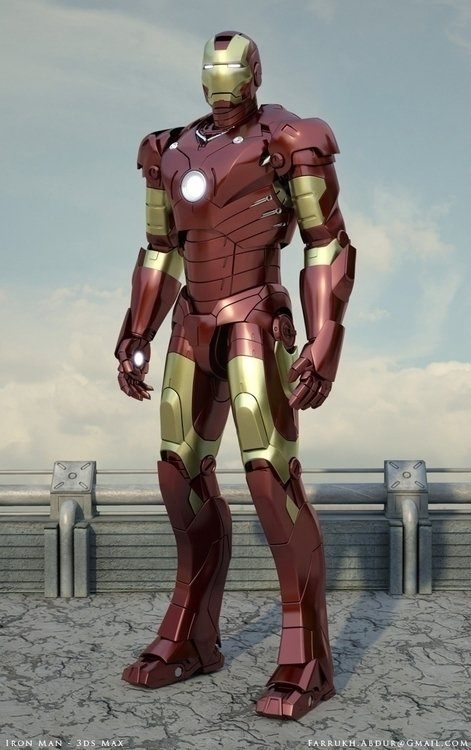 Iron Man Art - IronMan - farrukh-1236 | ello