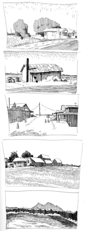 Storyboard location sketches - sean-7553 | ello