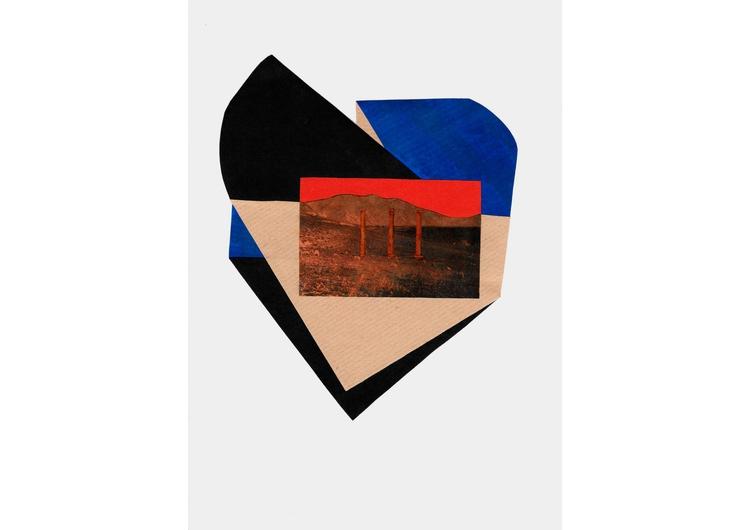 Premonition XI, 2015 / Collage  - josepsantamaria | ello