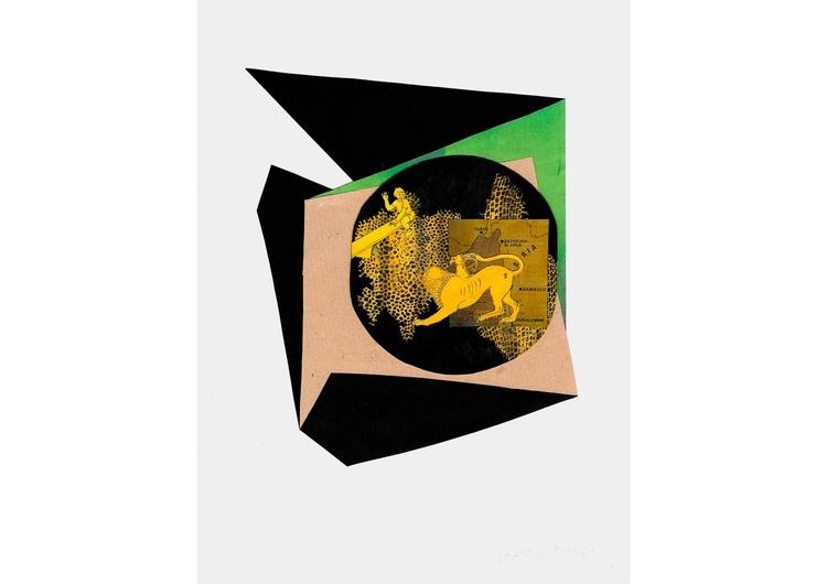 Premonition 2015 / Collage mixe - josepsantamaria | ello