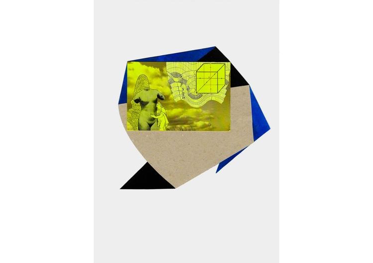Premonition XIV, 2015 / Collage - josepsantamaria | ello
