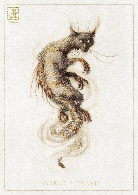 creature, cat, scary, animal - checanty | ello
