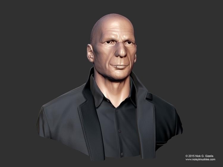 Yanis Varoufakis Bust - YanisVaroufakis - aumakua | ello