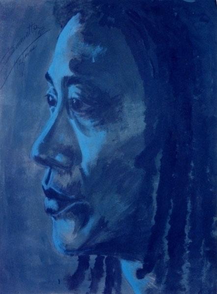 Rudy, acrylic handmade canvas 1 - tizianagiammetta | ello