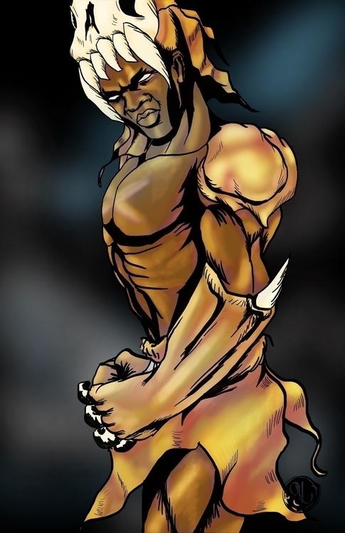 Chief Mbonga - ChiefMbonga, LegendOfTarzan - yaksiart | ello