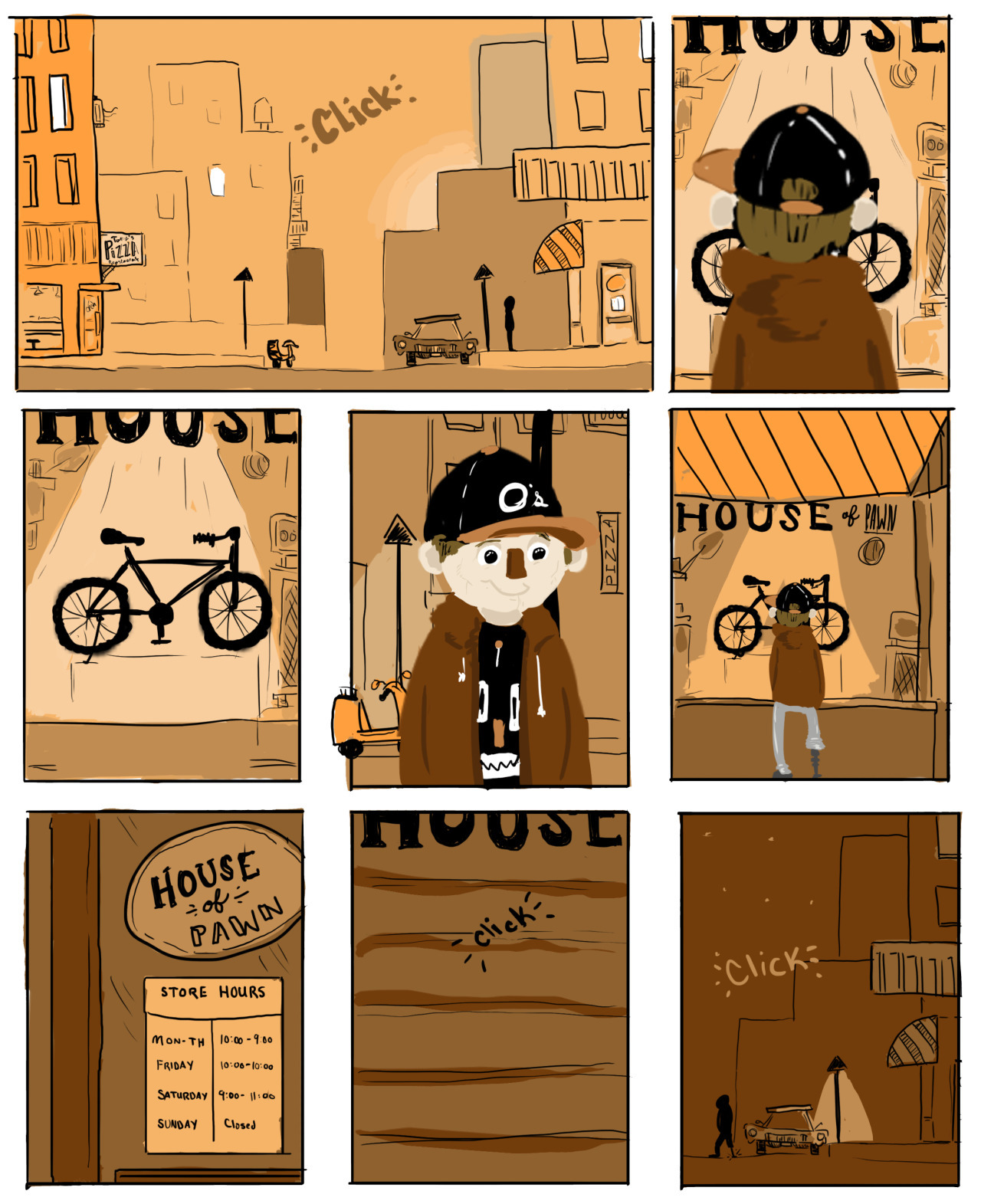 single page comic short story a - cjwords | ello