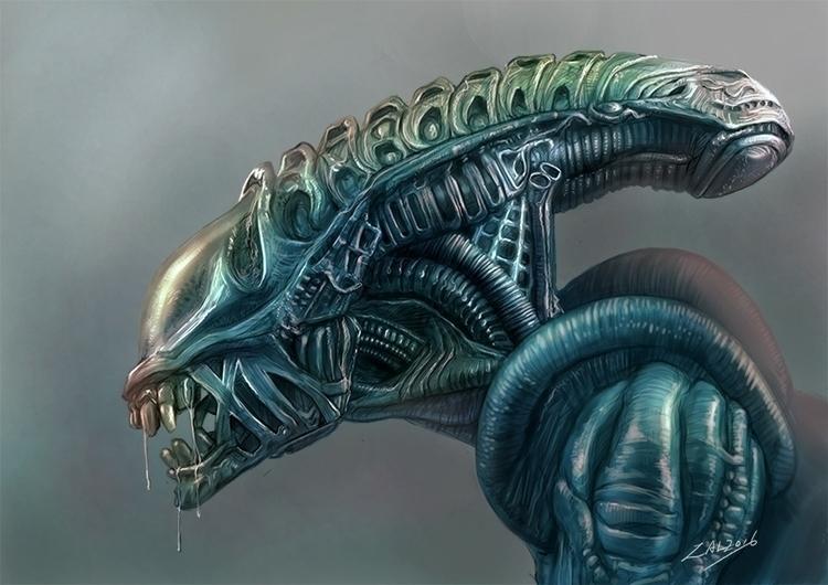 alien - zalartworks | ello