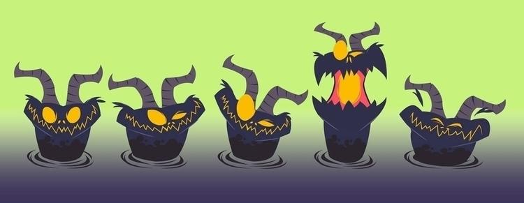 Swamp Creature - vector, 2danimation - michelverdu | ello