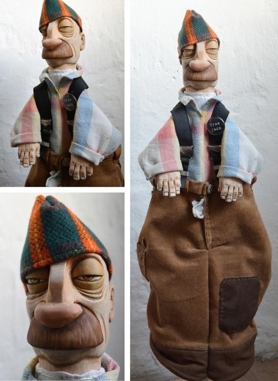 wood, sculpting, characterdesign - ilaria-5773 | ello