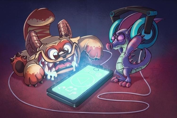 Monsters bed - monster, monsters - michelverdu | ello