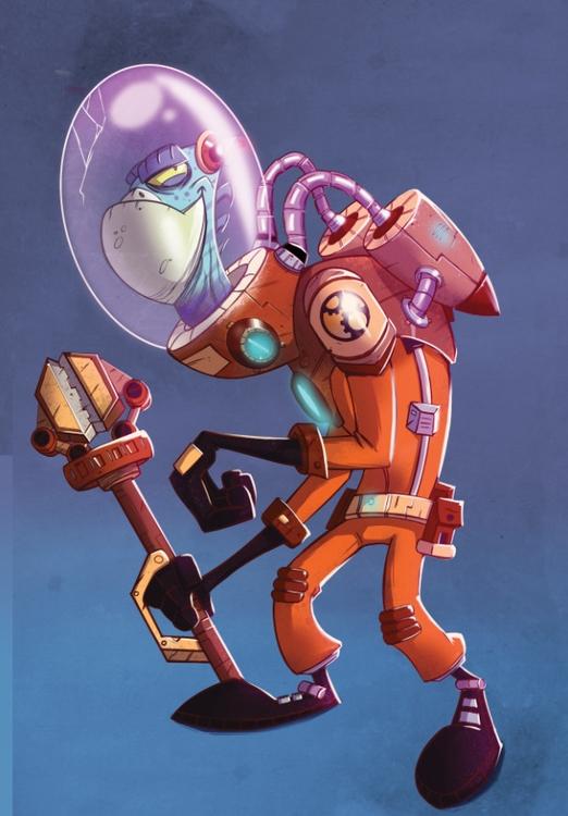 engineer - illustration, characterdesign - michelverdu | ello
