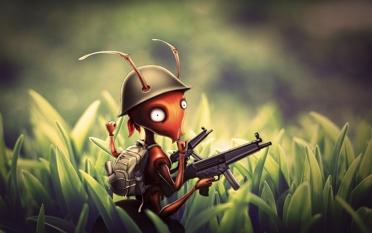Army Ant - comic, comics, armyant - jansengefert | ello