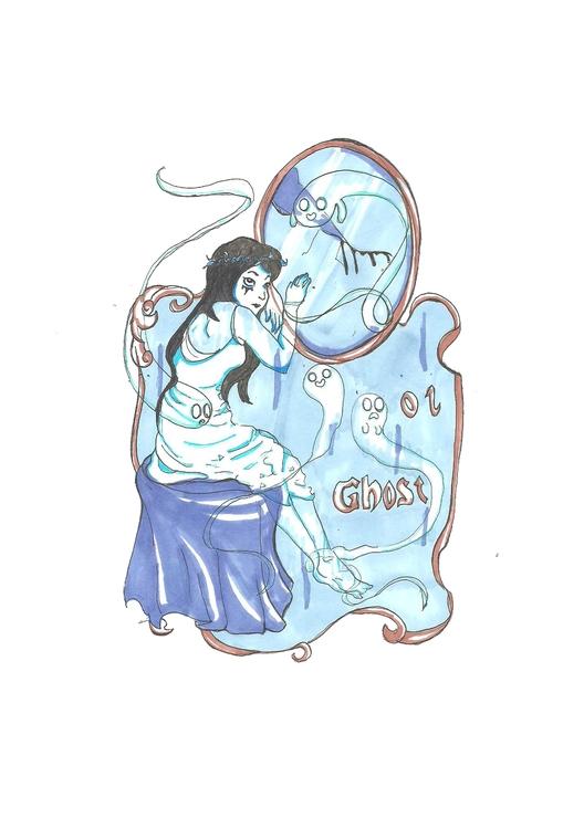 01 Ghost - illustration, characterdesign - hotshots2000   ello