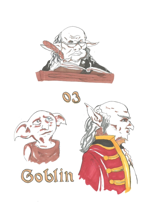 03 Goblin - illustration, drawing - hotshots2000 | ello