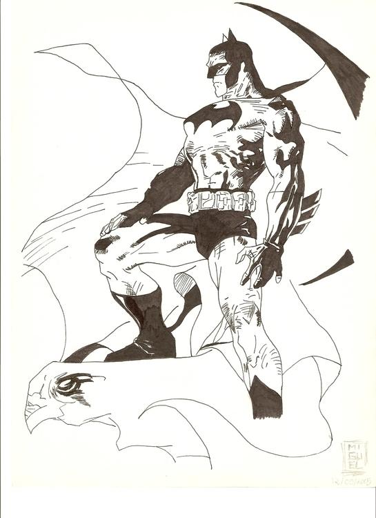 Batman, Jim Lee, Silence series - miguelcoelho | ello