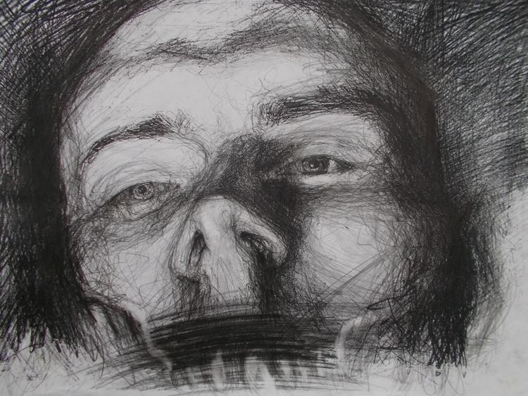 ,,Autoportret 1.''; kombinovana - ivanmitic | ello
