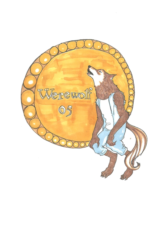 05 Werewolf - illustration, characterdesign - hotshots2000 | ello