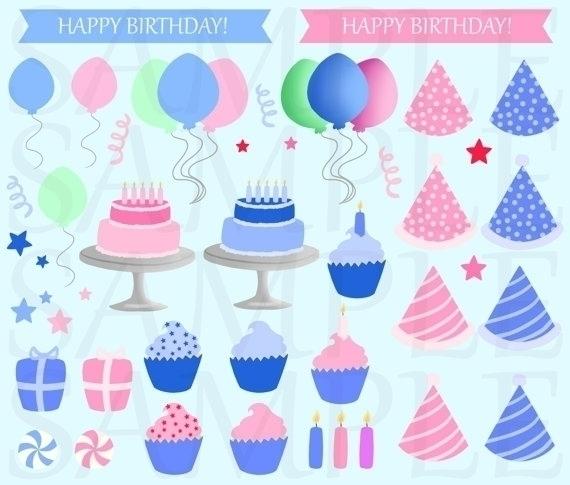 Birthday Party Clip Art, boys g - bridgetpavalow | ello