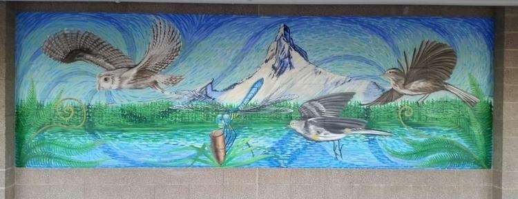 Barcelona Beaverton, 3rd Panel  - hector_murals | ello