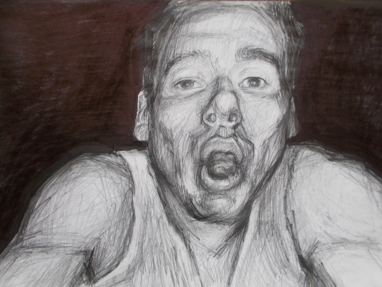 ,,Portret 1.''; kombinovana teh - ivanmitic | ello