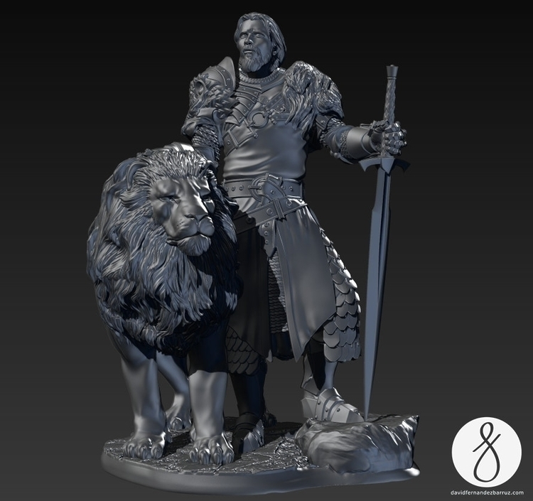 Keynan, King lions - lion, king - davidfbarruz | ello