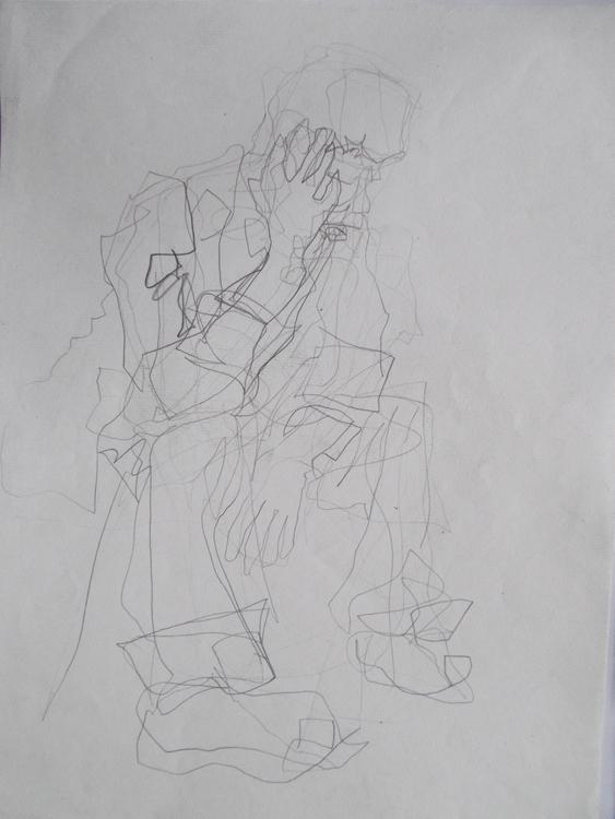 ,,Šeki''; grafit na papiru; 39x - ivanmitic | ello