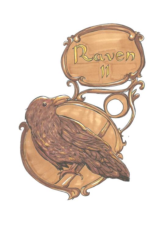 11 Raven - illustration, conceptart - hotshots2000 | ello