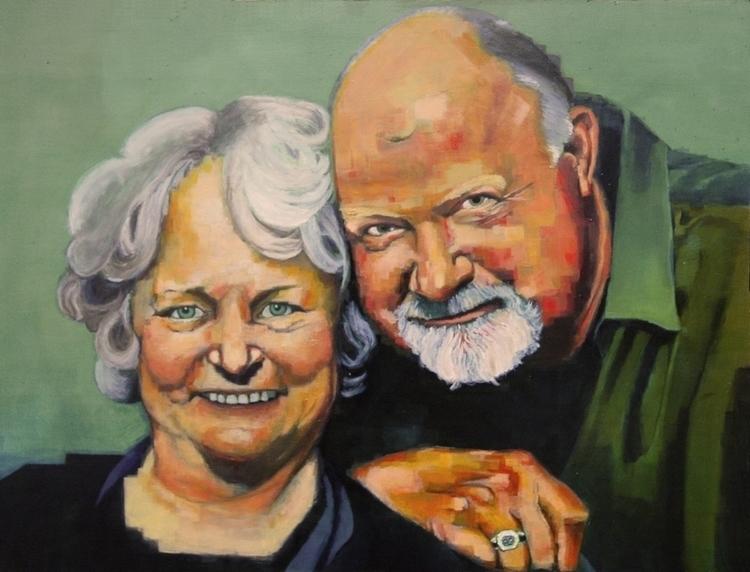 Graham Portrait - painting - mab-3070 | ello