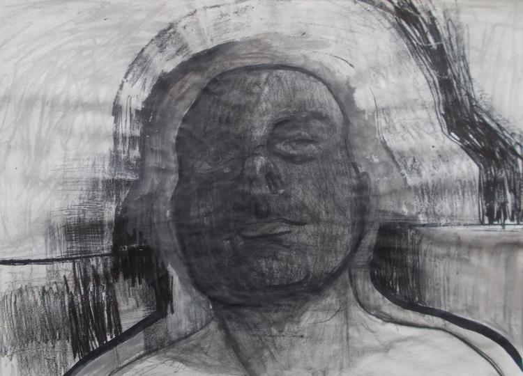 ,,Autoportret''; kombinovana te - ivanmitic | ello