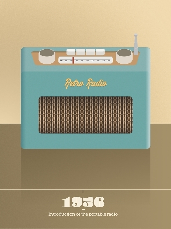 radio, illustration, robert'sradio - johnny-2690 | ello